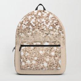 Dazzling Platinum Gold Gradient  Backpack