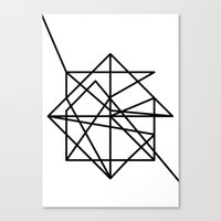 the wire Canvas Prints featuring Wire by FLATOWL