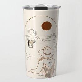 Lost Pony - Rustic Travel Mug