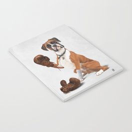 The Boxer (Wordless) Notebook