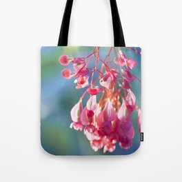 Angel Wing Begonia Tote Bag