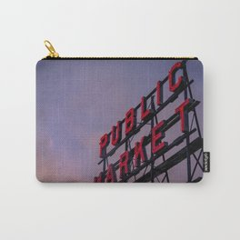 Pike Place Neon Sunrise Carry-All Pouch