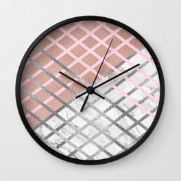 Mermaids Armor Wall Clock