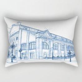 BluePrints | St.Lawrence Market - Toronto Rectangular Pillow