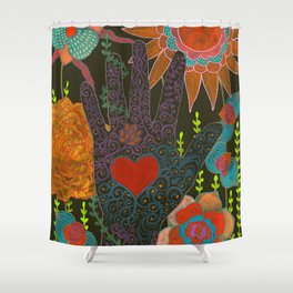 To Have Your Heart In My Hand Shower Curtain
