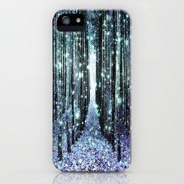 Magical Forest Lavender Aqua/Teal iPhone Case