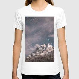 Lavender sky T-shirt