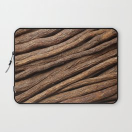 Licorice root in diagonal lines Laptop Sleeve