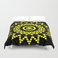 compass Duvet Covers featuring Compass by Mr. Pattern Man
