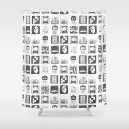 Vignettes - Yume Nikki Shower Curtain
