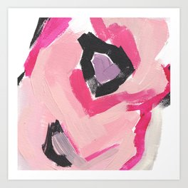 Twirl: Pink Art Print