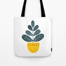 Yellow pot Tote Bag