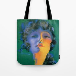 """Girl of My Dreams"" Pinup by Rolf Armstrong Tote Bag"