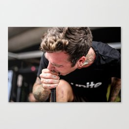 Joel Birch | The Amity Affliction Canvas Print