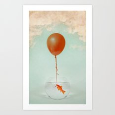 The great escape Art Print