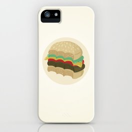 Totally a Burger iPhone Case