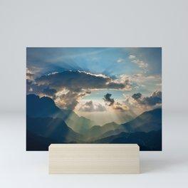 Sapa Sunset Mini Art Print
