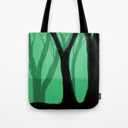 Magical Forest in Green Tote Bag