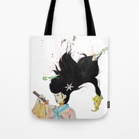 architect Tote Bags featuring The Architect by 3:33