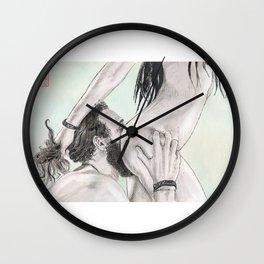 Double Grab Wall Clock