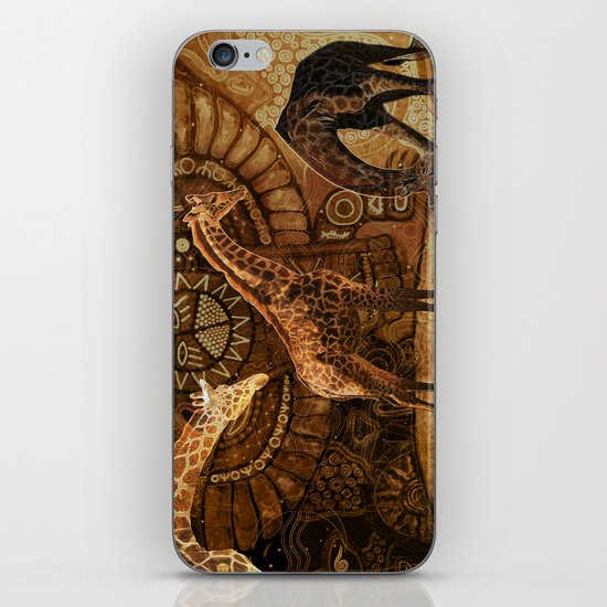 Three Giraffes iPhone & iPod Skin