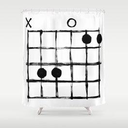 Csus Chord Shower Curtain