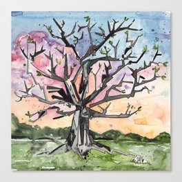 Spring Tree Canvas Print