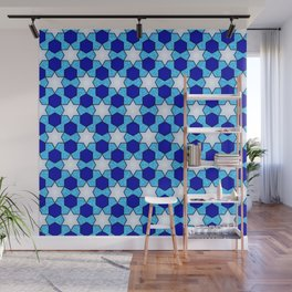 Stars And Hexes Wall Mural