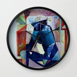 ILLUSION OF SEPARATION Wall Clock