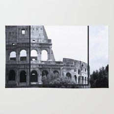 Colosseum Rome Italy Rug