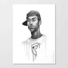 Strapped & Famous Canvas Print