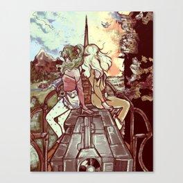 Look towards the Horizon Canvas Print