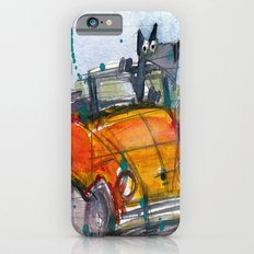 Scottish Terrier Driving a VW Bus Slim Case iPhone 6s