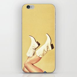 These Boots - Yellow iPhone Skin