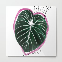 Monstera IV Metal Print