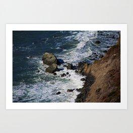 Muir Beach Overlook III Art Print