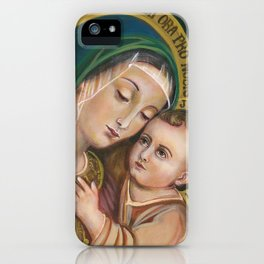 Our Lady of Good Counsel iPhone Case