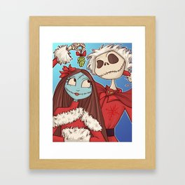 Sally and Jack Framed Art Print