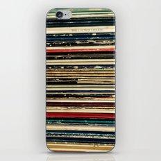 Records iPhone & iPod Skin