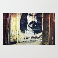 zappa Area & Throw Rugs featuring Zappa by Litew8