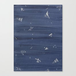 blue space Canvas Print