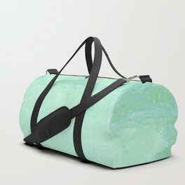 Blue Gray Cotton Fluff Duffle Bag