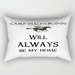 Camp-half blood will always be my home Rectangular Pillow