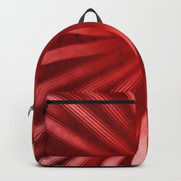 Intersecting-Red Backpack