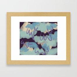 Blobby 84 Framed Art Print