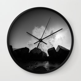 water and me 3 Wall Clock