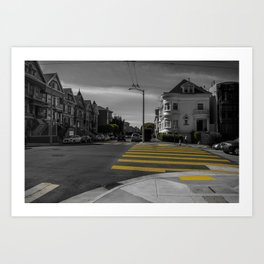 Street of San Francisco Art Print