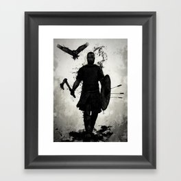 To Valhalla Framed Art Print