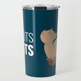 If I Fits I Sits Travel Mug