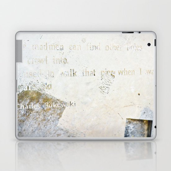 Writing on the Wall [2] Laptop & iPad Skin